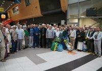 Муфтий РТ встретил первую группу хаджиев из Татарстана