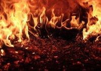 Автоцистерна с газом взорвалась в Чечне