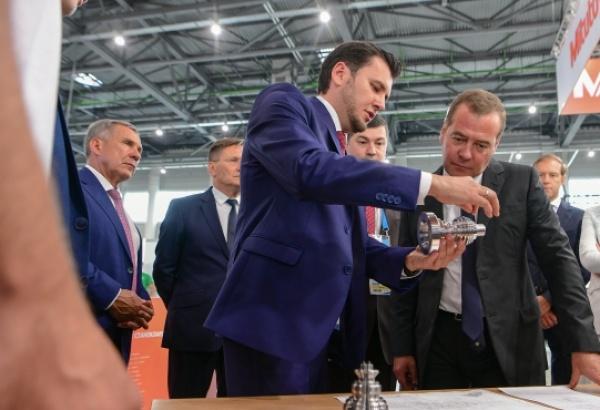 Премьер-министр РФ назвал WorldSkills чемпионатом будущего (Фото: пресс-служба президента Татарстана)