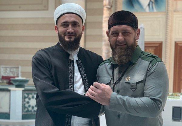 В Грозном прошла встреча Муфтия Татарстана с Главой Чеченской Республики