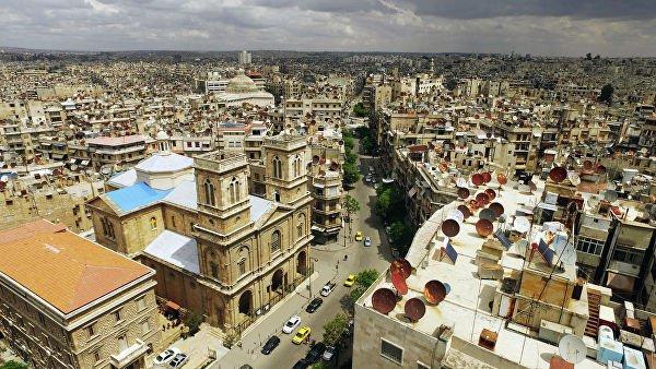 Сирийский Алеппо возвращается к мирной жизни.