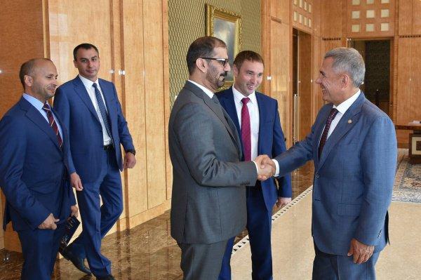 Встреча прошла в Доме правительства.