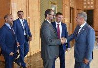 Минниханов встретился с министром образования ОАЭ