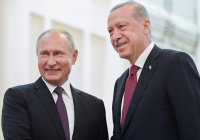 Песков назвал главные темы предстоящих переговоров Путина и Эрдогана