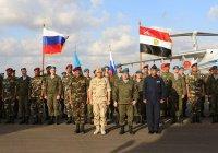 Египет и Россия начали совместные военные учения