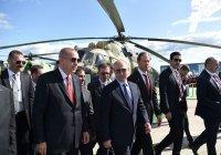 Россия и Турция могут начать совместное производство военной техники