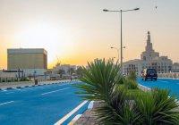 В Катаре с жарой будут бороться с помощью цветного асфальта