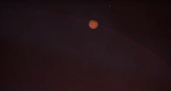 Согласно данным специалистов, планета имеет очень необычную, вытянутую орбиту