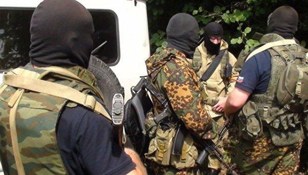 Сотрудники ФСБ задержали подозреваемого.
