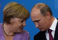 Путин и Меркель обсудили ситуации в Сирии и Ливии