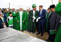 В Челябинской области начали строительство Соборной мечети