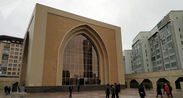 Мечеть, построенная Атамбаевым.