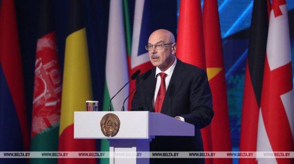 Владимир Воронков выступил на конференции по антитеррору в Минске.