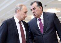 Путин поздравил Рахмона с Днем независимости Таджикистана