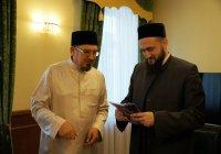 ДУМ РТ посетил муфтий Саратовской области Мукаддас хазрат Бибарсов
