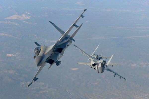 Российские истребители появились на вооружении у Алжира.
