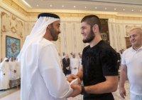 Наследный принц Абу-Даби опубликовал фото с Нурмагомедовым