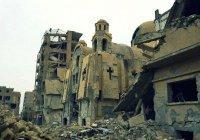 В Сирии назвали число церквей, разрушенных за годы войны