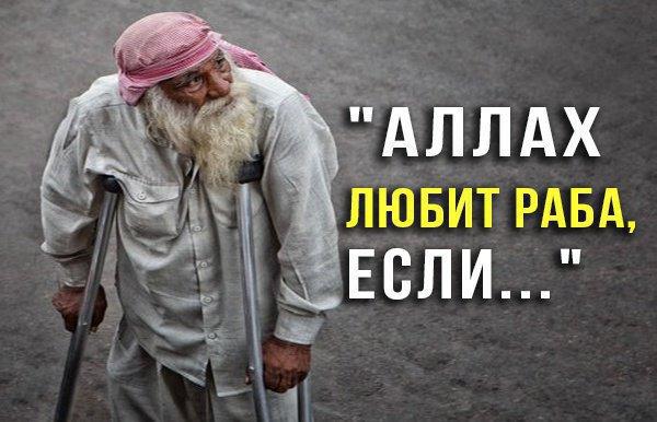"""""""Аллах любит раба, которого испытывает, если..."""""""