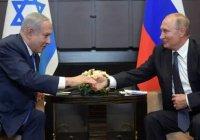 Путин принял приглашение посетить Израиль в 2020 году