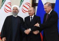 Путин обсудит сирийское урегулирование с Эрдоганом и Роухани