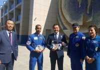 Первые космонавты ОАЭ прибыли на Байконур