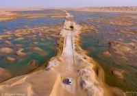 Невероятно красивые фото, которые вы вряд ли видели - озера посреди пустыни