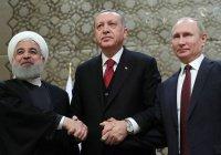 Трехсторонний саммит России, Турции и Ирана пройдет в Анкаре