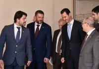 Асад обсудил восстановление Сирии с российской межведомственной делегацией