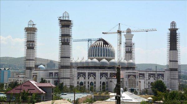 Вместимость мечети составит до 120 тысяч человек.