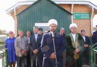 В Татарстане новая мечеть приняла первых прихожан