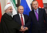 Россия, Иран и Турция заявили о готовности противостоять сепаратизму в Сирии