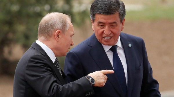Президенты России и Киргизии в 2019 году встречались уже четырежды.