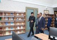 Председатель Главного управления по исламским делам и пожертвованиям ОАЭ посетил БИА