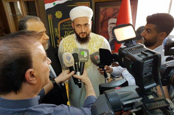 Камиль Самигуллин прибыл в Дамаск.