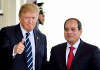Трамп назвал президента Египта «великим лидером»