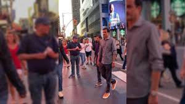 Эмир Катара в Нью-Йорке.