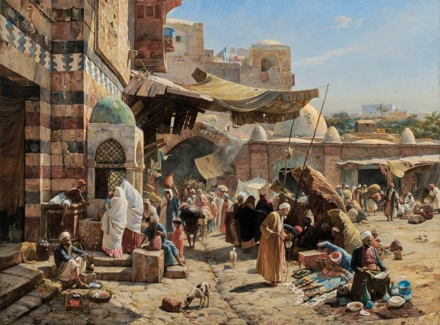 Ориентализм (от лат. orientalis — восточный) - представление Востока в западном искусстве.