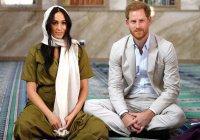 Принц Гарри и Меган Маркл посетили мечеть