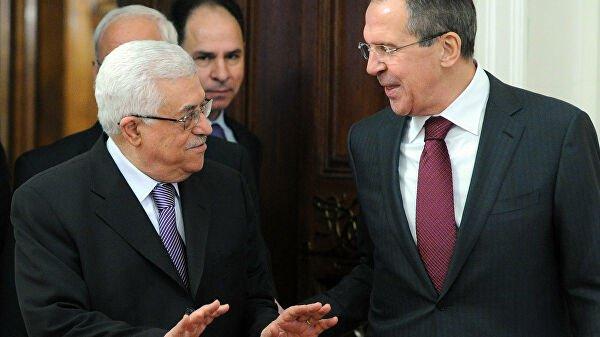 Лавров и Аббас обсудили палестино-израильское урегулирование.