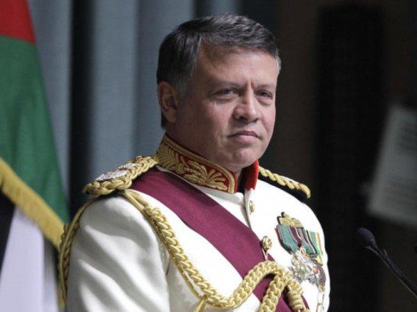 Король Иордании Абдалла II.