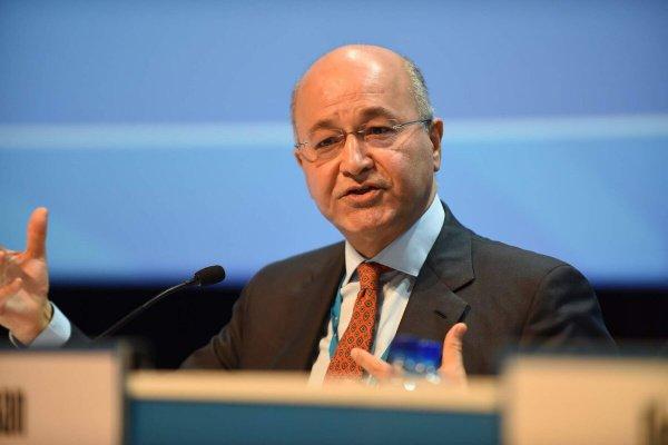 Бархам Салех выступил на Генассамблее ООН.