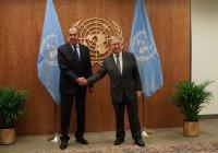 Лавров и Гутерреш провели встречу на полях Генассамблеи ООН