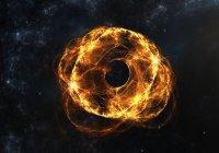 НАСА показало визуализацию черной дыры (ВИДЕО)