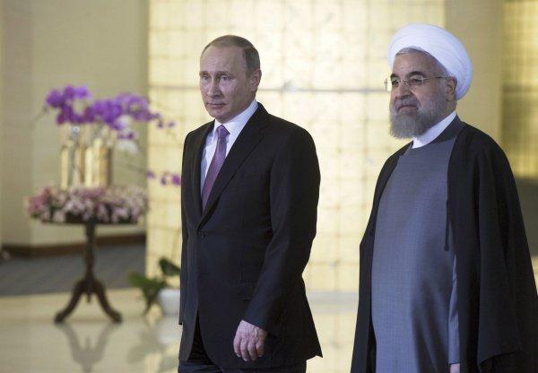 Президенты России и Ирана встретятся в Ереване.