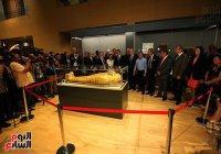 В Каирском музее показали позолоченный саркофаг, возвращенный из США (Фото)