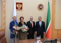 Минниханов обсудил сотрудничество с делегацией Стамбульского университета Кент