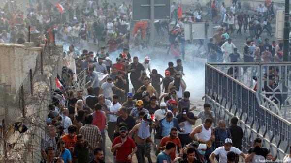 Протесты охватили Багдад и несколько других городов страны.