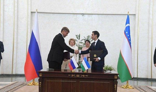 Подписание меморандума состоялось в Ташкенте.