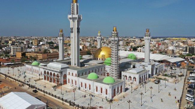 Мечеть в процессе строительства